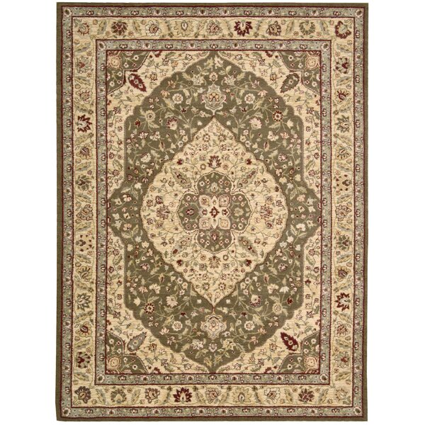 Elonso Saffira Green Area Rug by Astoria Grand