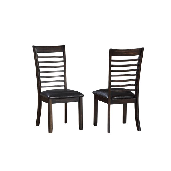 Lapinski Solid Wood Dining Chair (Set of 2) by Winston Porter