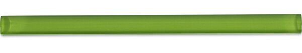 0.75 x 12 Glass Pencil Liner Tile in Fresh Green by Splashback Tile