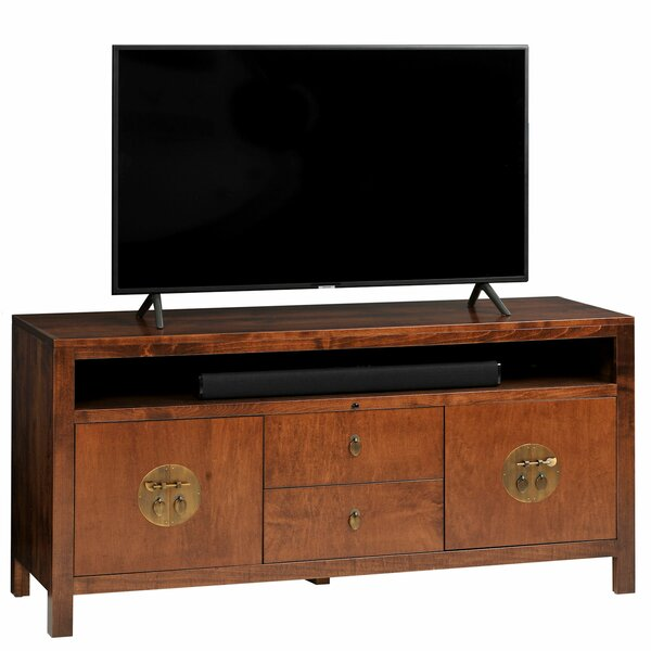Garfield Solid Wood TV Stand For TVs Up To 70