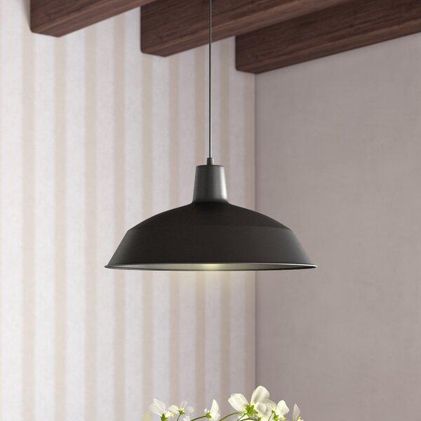 Cornelia Industrial Warehouse 1-Light Bowl Pendant