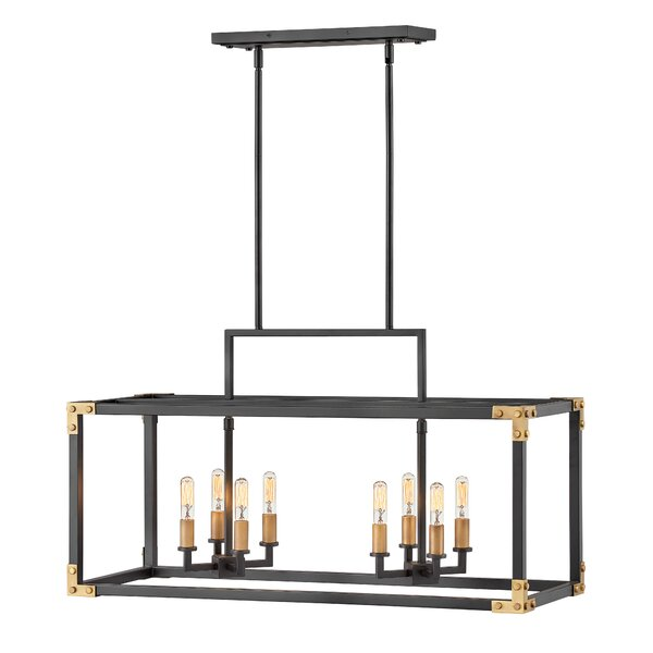 Altha 8 - Light Candle Style Square / Rectangle Chandelier By 17 Stories