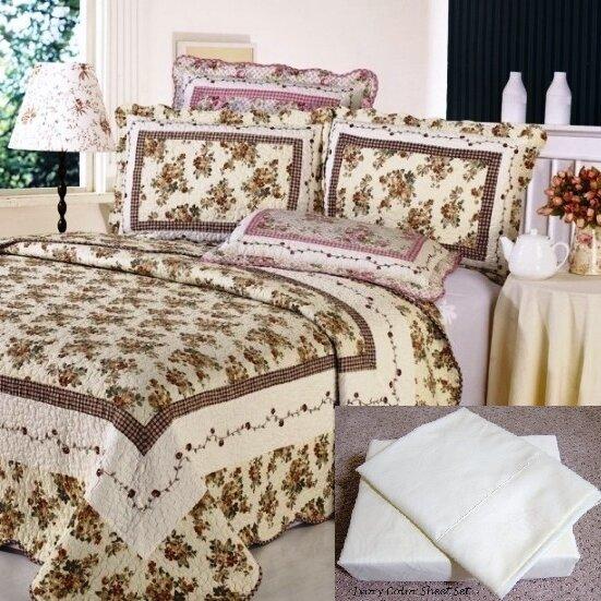 7 Piece Reversible Quilt Set by Home Sensation