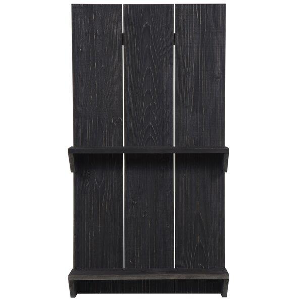 Ishani Natural Wood Pallet Wall Shelf by Gracie Oaks