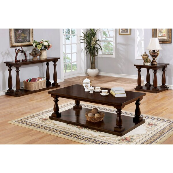 Bardwell Rustic 3 Piece Coffee Table Set by Canora Grey