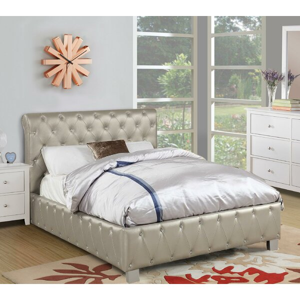 Desirae Upholstered Standard Bed by House of Hampton