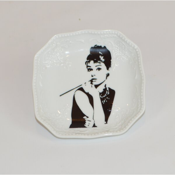Audrey Decorative Plate by The French Bee