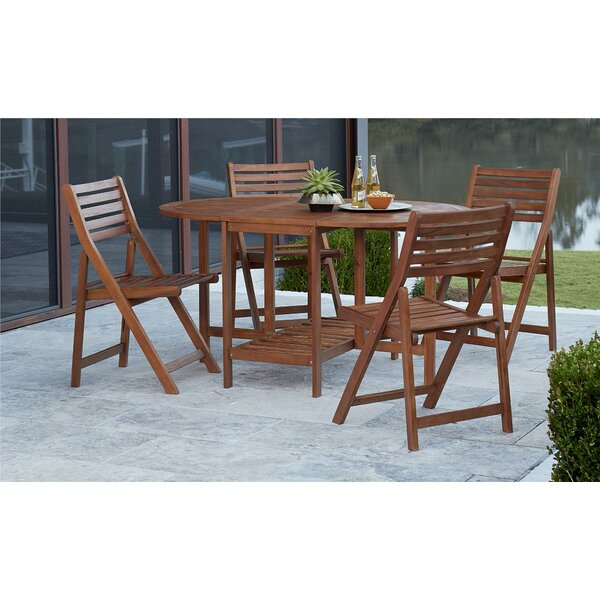 Fairmead 5 Piece Dining Set by Bay Isle Home