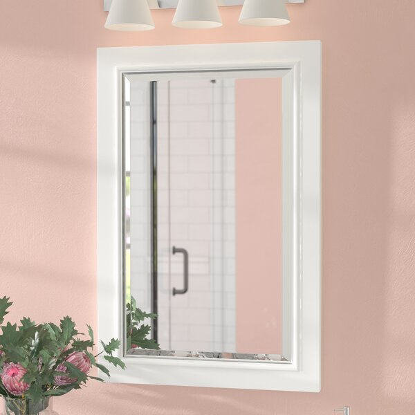 Rectangle Solid Wood Bathroom / Vanity Mirror by Andover Mills