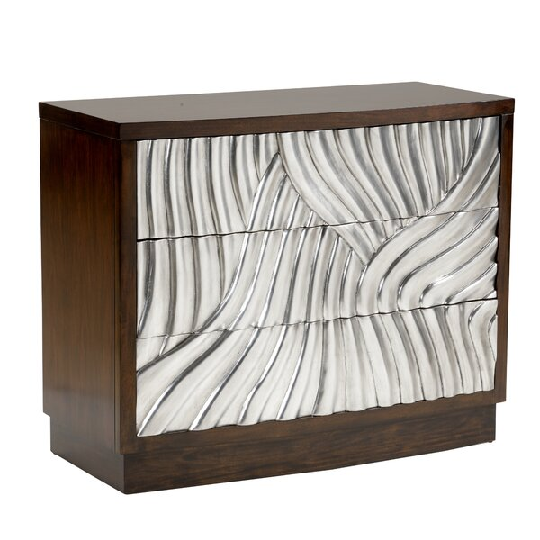 Lombard 3 Drawer Accent Chest by Wildwood