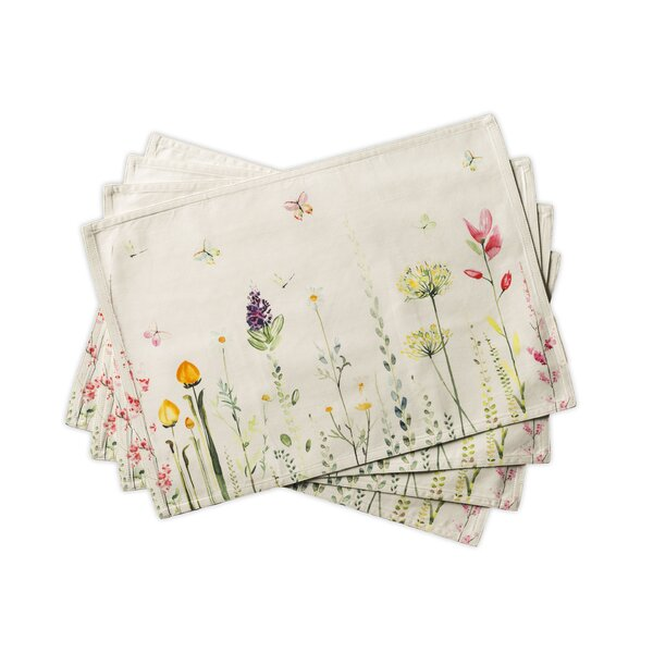Botanical Fresh Placemat (Set of 4) by Maison d' Hermine