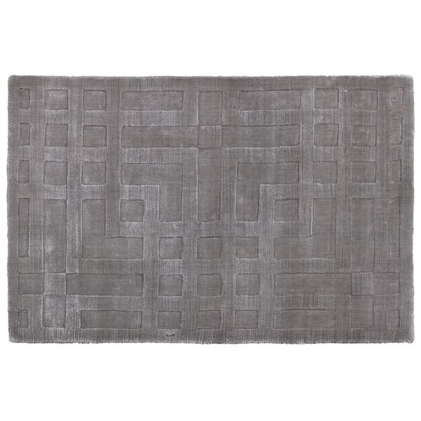 Hazel Hand-Woven Gray Area Rug by Exquisite Rugs