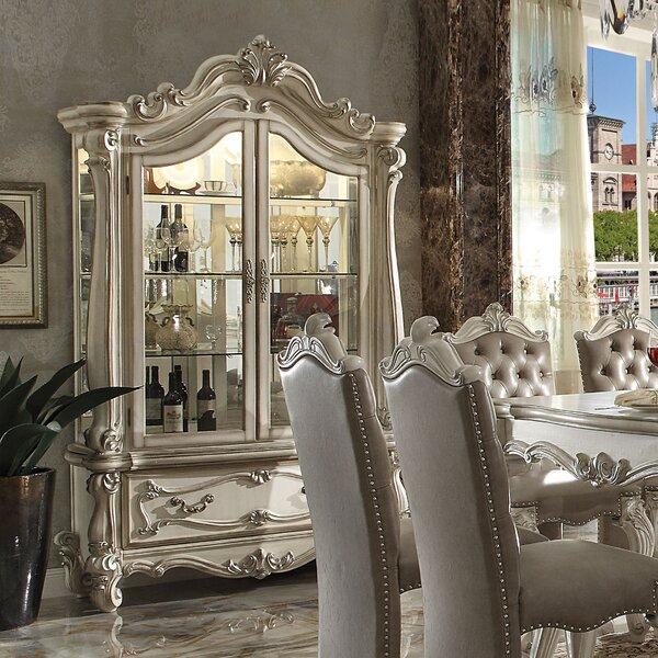 Welton Lighted China Cabinet by Astoria Grand