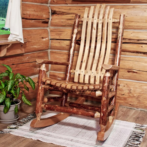 Tustin Rocking Chair by Loon Peak