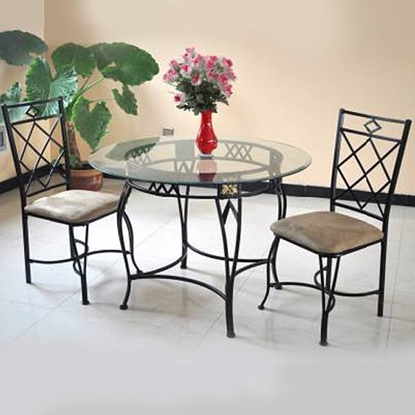 Blondelle 5 Piece Breakfast Nook Dinning Set by Red Barrel Studio