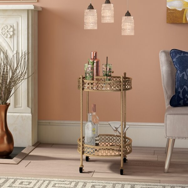 Sariyah Bar Cart by Willa Arlo Interiors