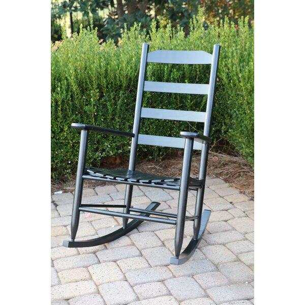 Ona Ladder Back Rocking Chair by Laurel Foundry Modern Farmhouse