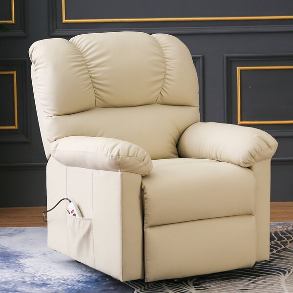 Great Deals Abert Reclining Heated Full Body Massage Chair With Ottoman