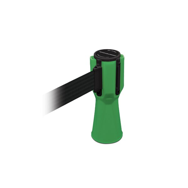 Green Tensacone Topper with Belt by Tensator