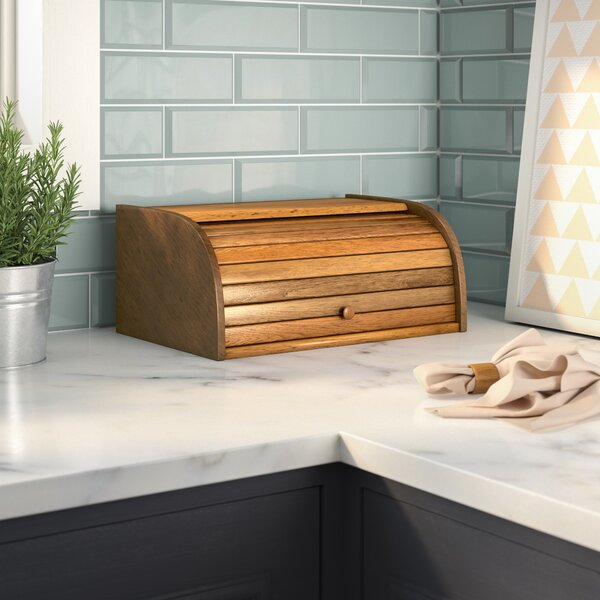 Roll Top Bread Box by Rebrilliant