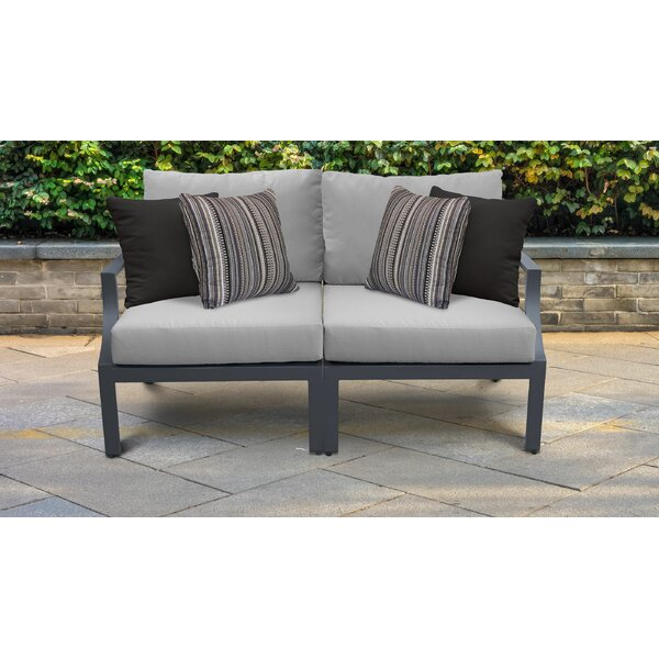 Benner Loveseat with Cushions by Ivy Bronx Ivy Bronx