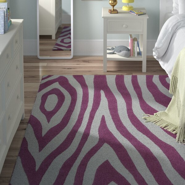 Shari Pink Wild Side Area Rug by Viv + Rae