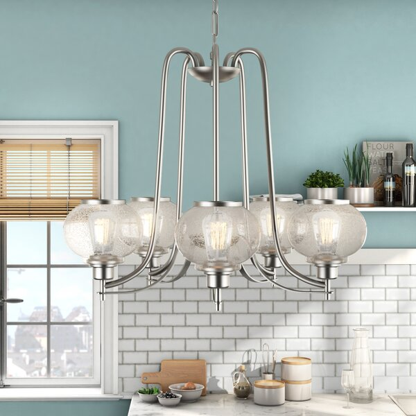 Spofford 5 - Light Shaded Classic / Traditional Chandelier by Three Posts Three Posts