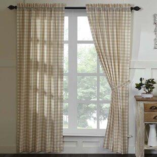 bedroom drapes. Caulder Buffalo Check Lined 100  Cotton Curtain Panels Set of 2 Master Bedroom Curtains Drapes Wayfair