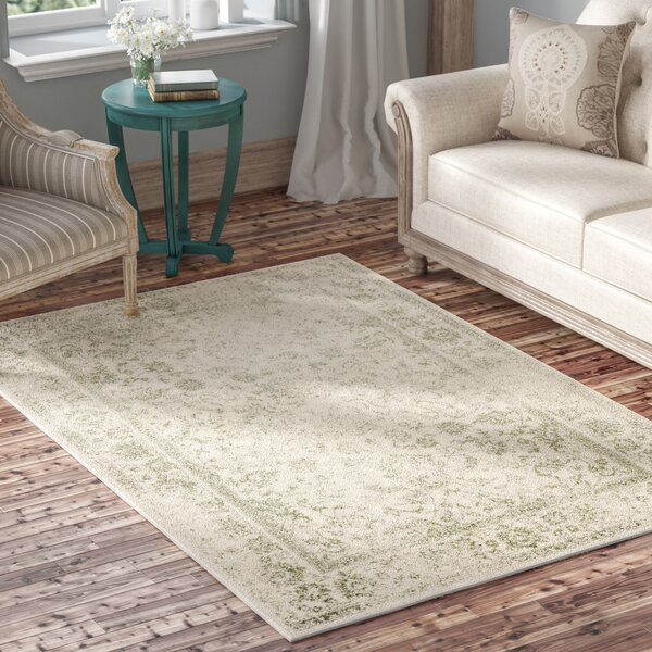 Howton Ivory/Sage Area Rug by Laurel Foundry Moder