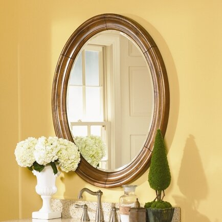 Guild Hall Small Vanity Mirror by Kaco International