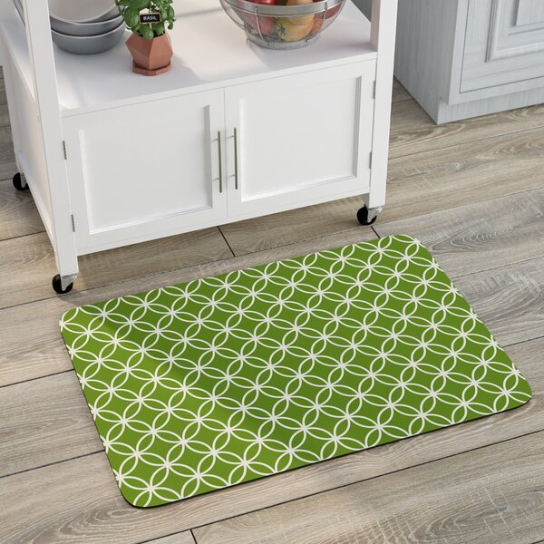 Swofford Circle Bloom Kitchen Mat by Red Barrel Studio