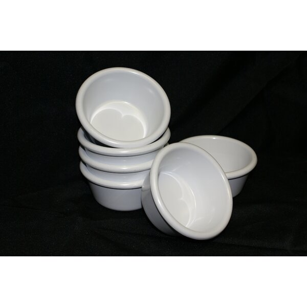 6 Oz. Melamine Ramekin (Set of 6) by Prolon