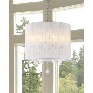 Vasya 6-Light Drum Chandelier