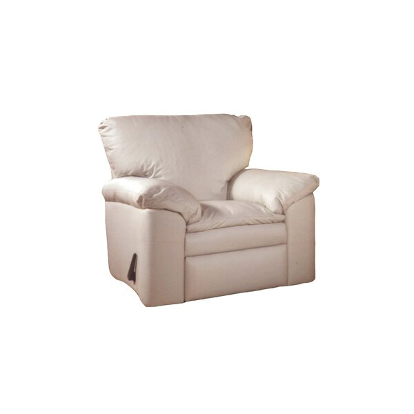 El Dorado Leather Swivel Recliner by Omnia Leather