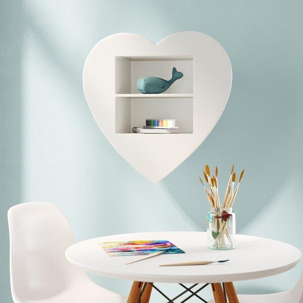 Agawam Heart Wall Shelf by Mack & Milo