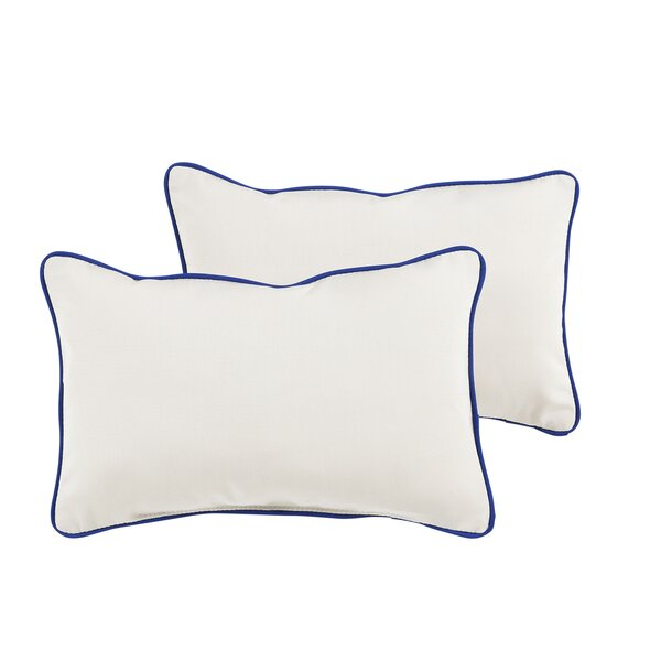 Paityn Sunbrella Outdoor Lumbar Pillow (Set of 2) by Longshore Tides