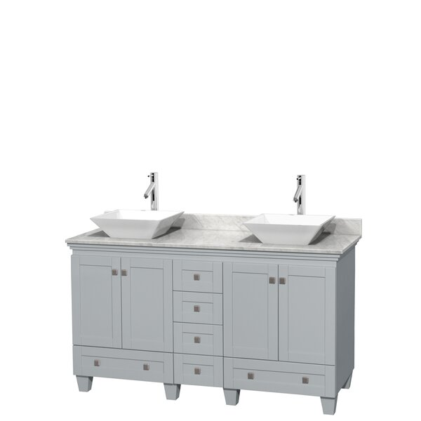 Acclaim 60 Double Bathroom Vanity Set by Wyndham Collection