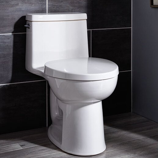 Cadet 1.28 GPF Elongated One-Piece Toilet by American Standard