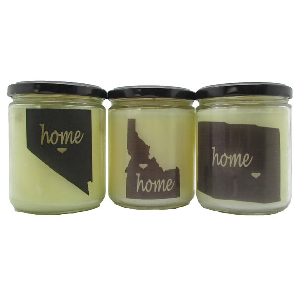 California Baked Apple Pie Scented Jar Candle by Gracie Oaks