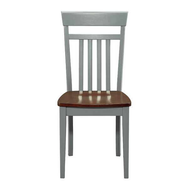 Jace Solid Wood Dining Chair (Set of 2) by August Grove