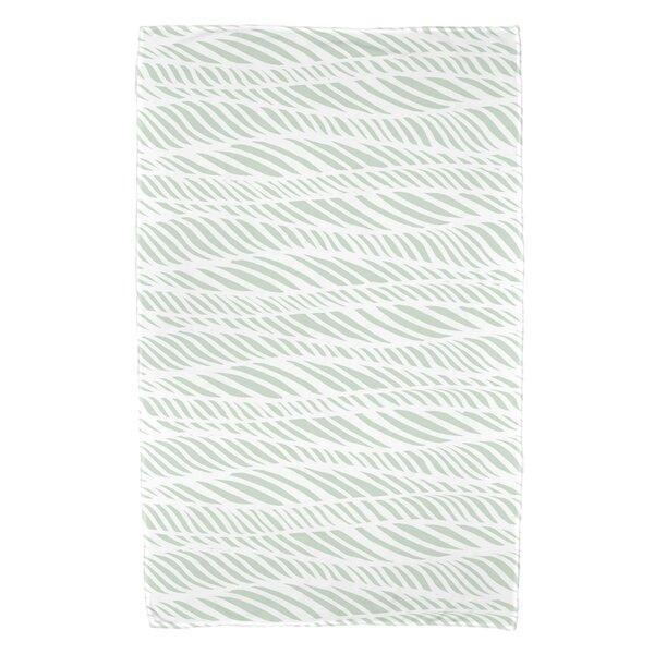 Viet Rolling Waves Beach Towel by Bloomsbury Market