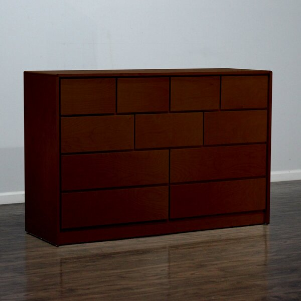 Art Deco 11 Drawer Standard Dresser by Gothic Furniture