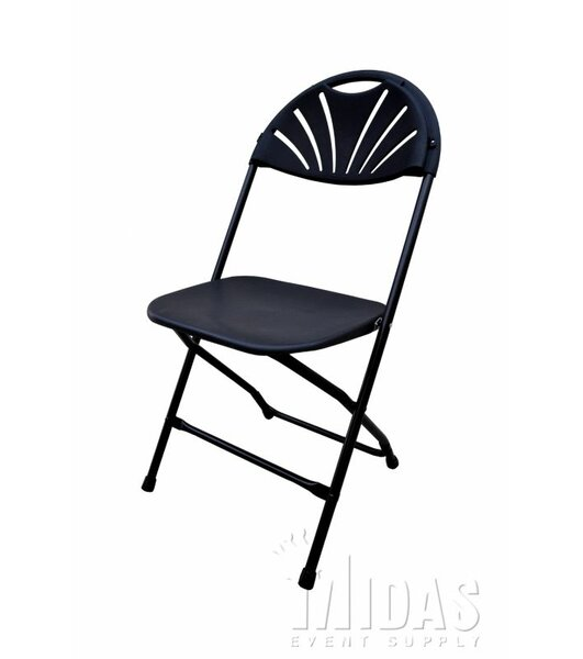 Champ Fanback Folding Chair by Midas Event Supply