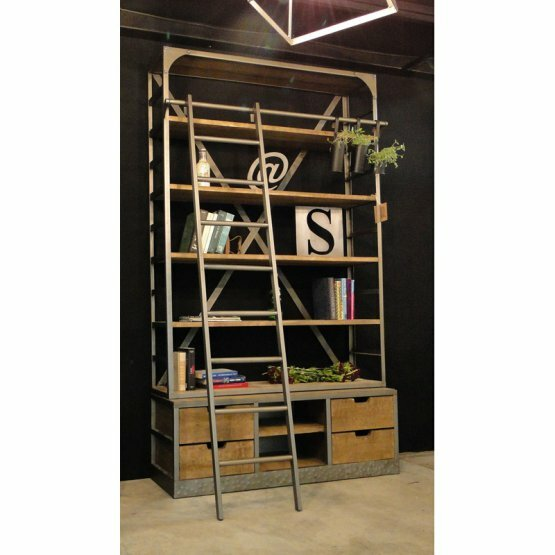 Clauson Vintage Ladder Bookcase by 17 Stories