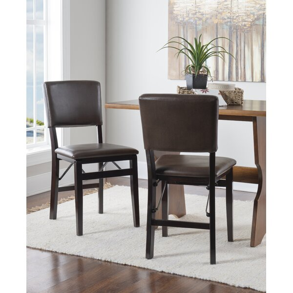 Caldwell Upholstered Dining Chair (Set of 2) by Red Barrel Studio