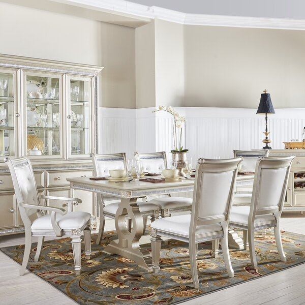 Tiffany 7 Piece Extendable Dining Set by Fairfax Home Collections
