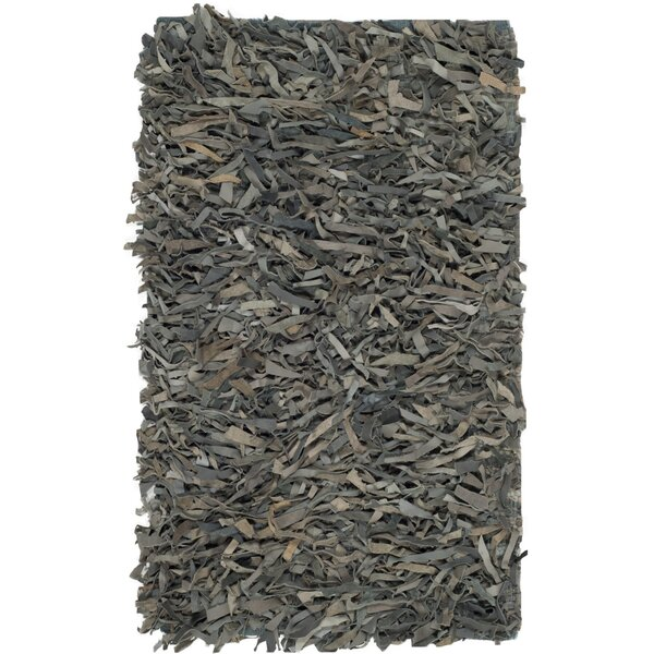 Albany Hand-Knotted Gray Area Rug by Zipcode Design