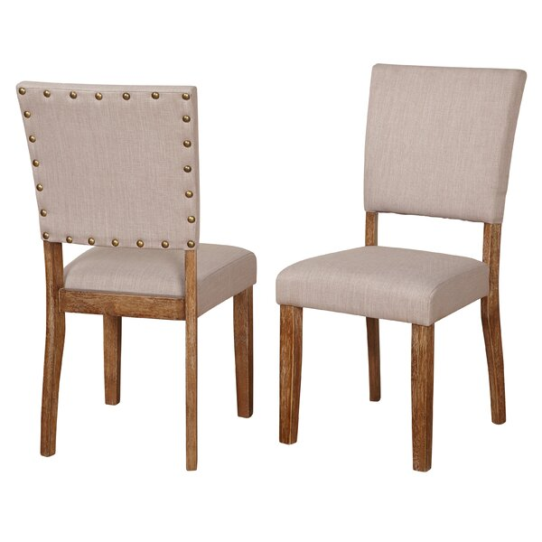 Lassiter Upholstered Dining Chair (Set of 2) by Gracie Oaks
