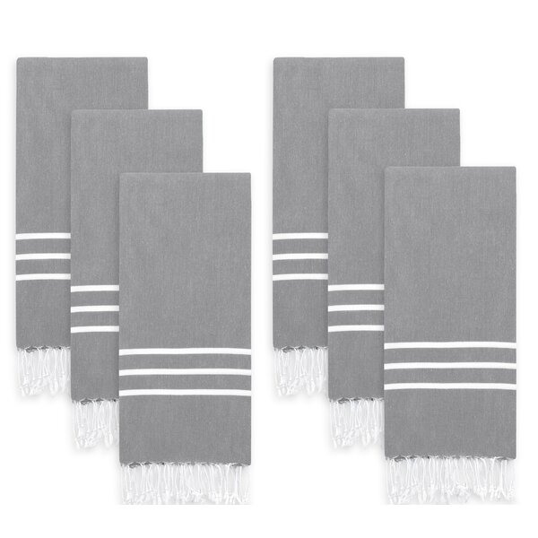 Penrith Pestemal Cotton Hand Towel (Set of 6) by Highland Dunes
