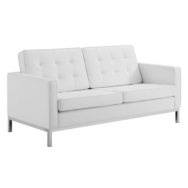 Modern Collection Faizan Loveseat by Wrought Studio by Wrought Studio